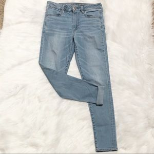 American Eagle High Waisted Jegging Super Stretch